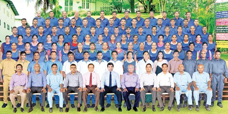 The Ceylon Quartz Industries team.