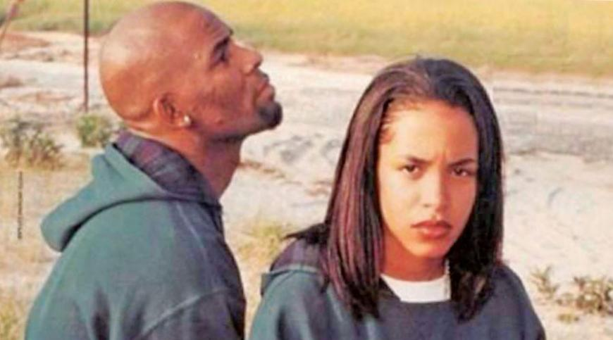 Aaliyah and R-Kelly
