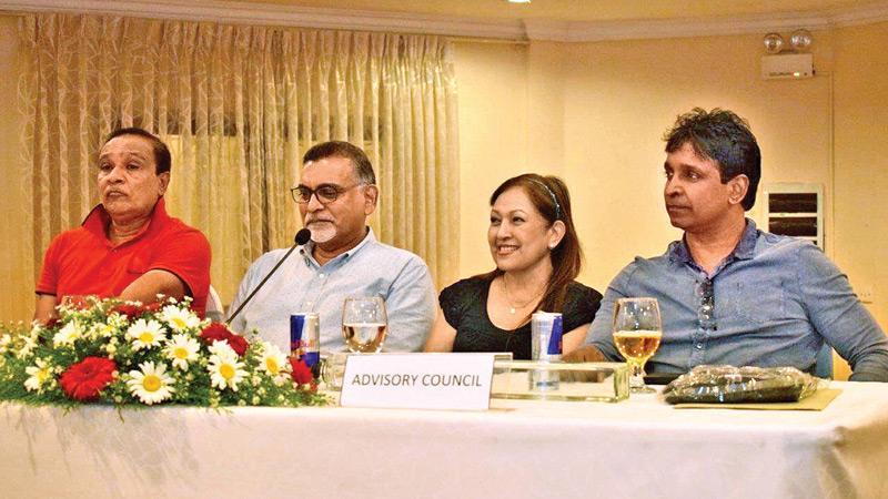 Nihal Perera, Jehan Rajapakse, Mignonne Fernando and Damien Wikkramatillake