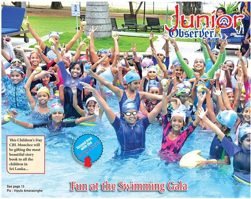 Fun at the Swimming Gala