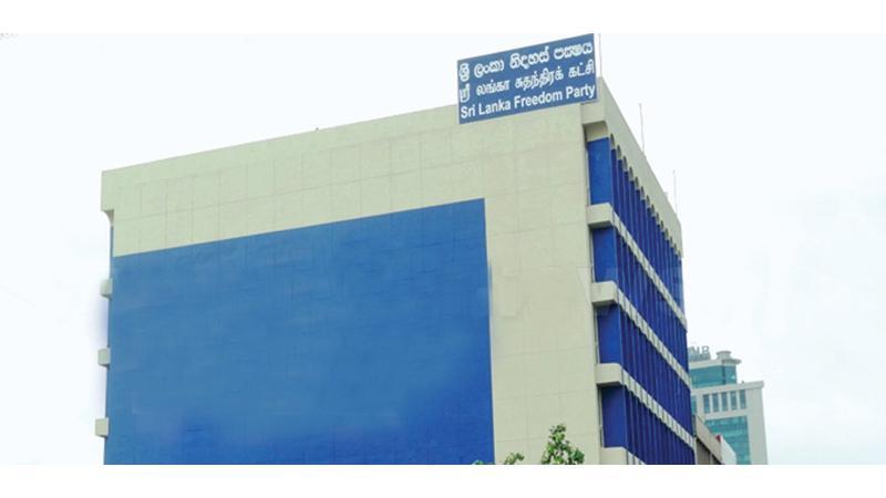SLFP headquarters, Darley Road Maradana
