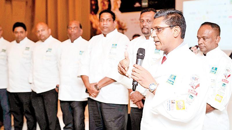 President of Bocuse d'Or Sri Lanka Rohan Fernandopulle