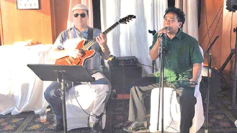 Ray Pereira and Andre Serreri in performance on the Carolina Queen