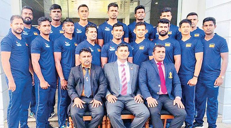 Sri Lanka men's kabbadi team: Chameera Haputhanthri (captain), K. Sinodaran, SMCR Samarakoon, JAD Prematilleka, KAK Kuruppu, APG Chaturanga, KDM Pushpakumara, DMR Dissanayaka, AHM Abeysinghe, YA Sanjaya, RMA Ratnayake, DDG Madushanka, VAK Jayamal WAL Sampath, BA Saheed, KNC Kumara, Isuru Bandara (Hhad coach), L Ratnayake (assistant coach), Anura Pathirana (manager)