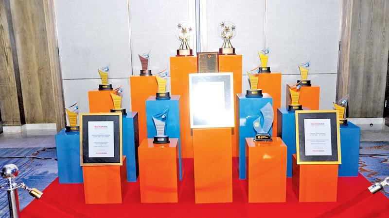 The awards won by Hemas Hospitals over the past six months.