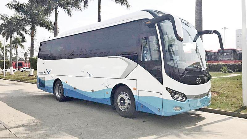 Luxury coaches used by Browns Tours