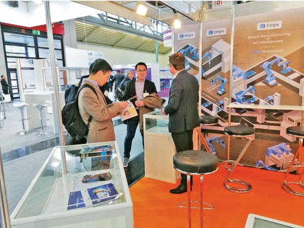 The Sri Lanka pavilion at Productronica 2019