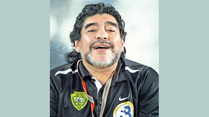 Maradona returns as coach