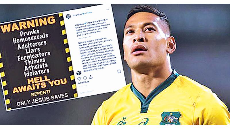 Former Wallaby Peter FitzSimons: Israel Folau's latest claim 'absurd'