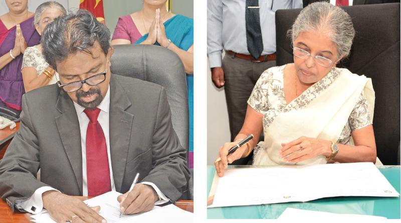 Prof. Muditha  Vidanapathirana-Retired High Court Judge , Attorney-at – Law Sujatha Alahapperuma