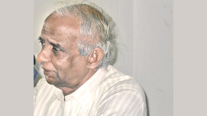 Prof Ranjit de Silva