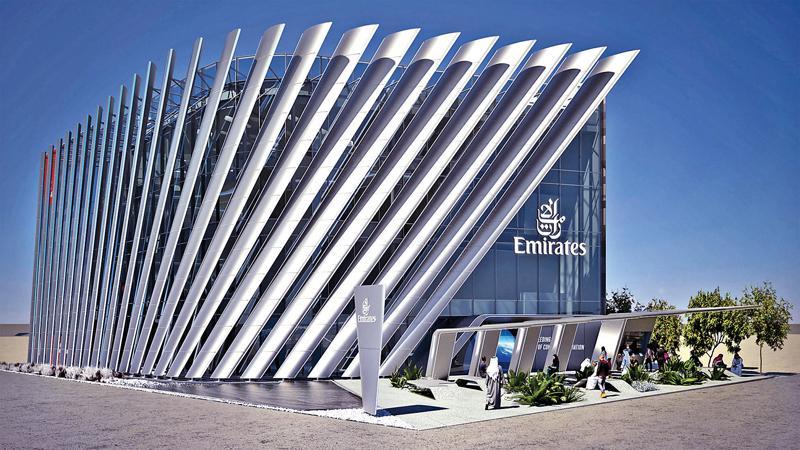 Emirates unveils its Expo 2020 Dubai pavilion.