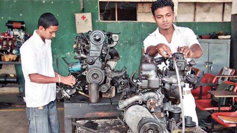 Vocational training aims at job market requirements