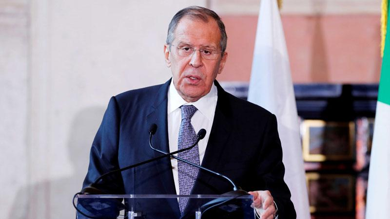 Russian FM Lavrov arrives in Sri Lanka