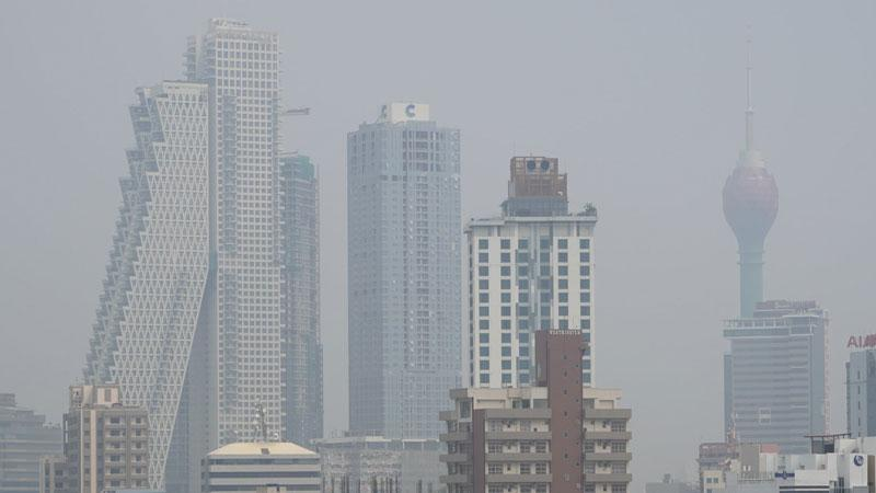 Air pollution in Colombo at unhealthy levels