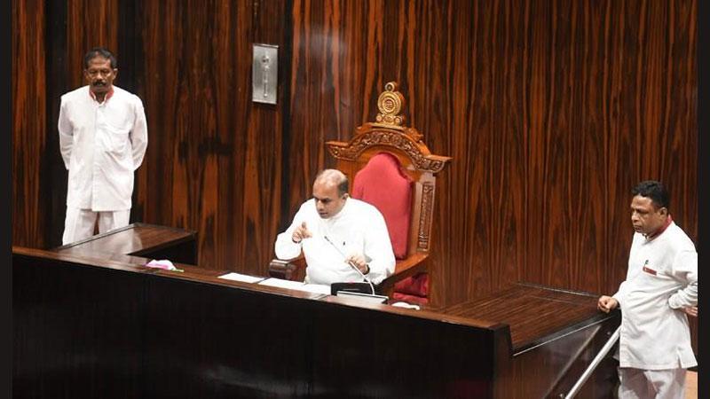 Ranjan has not tabled controversial recordings - Deputy Speaker