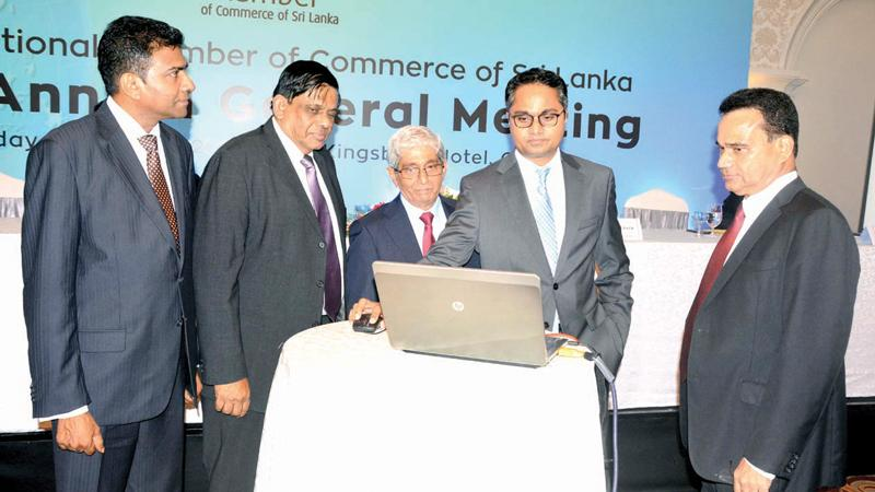 The launch of a website at the AGM.