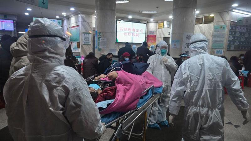 Coronavirus death toll climbs