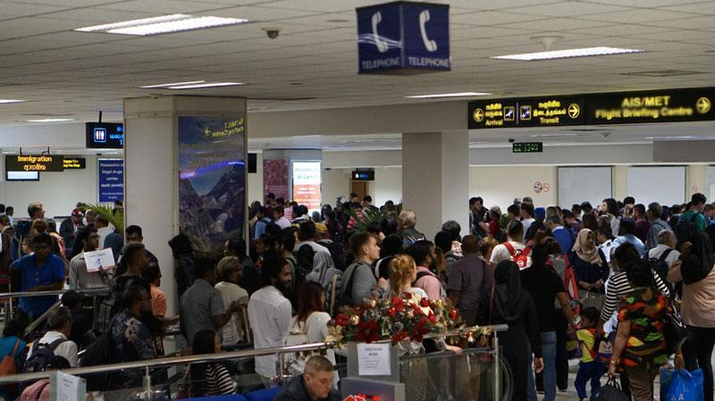 Sri Lankan students returns from China