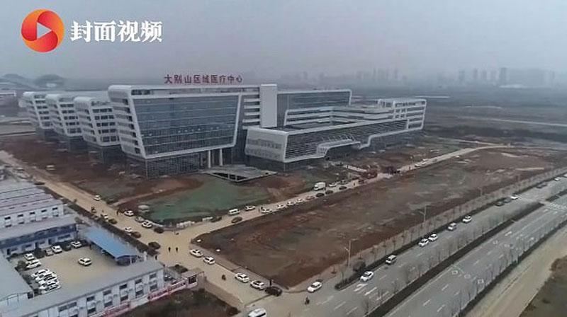 China opens first Coronavirus hospital