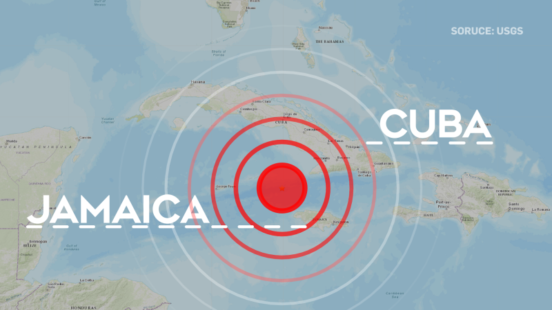 Caribbean earthquake of 7.7 prompts office evacuations in Miami