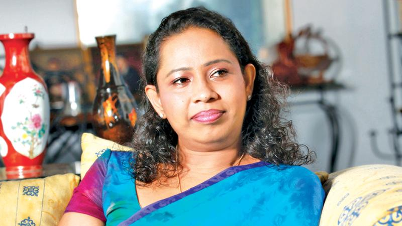 Minister of Healthcare and Indigenous Medical Services Pavithra Wanniarachchi