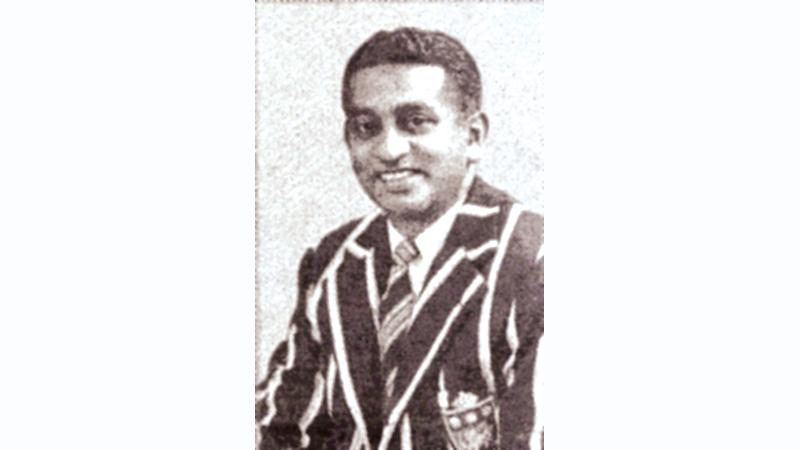 Hector Perera; A cricketing giant of yesteryear