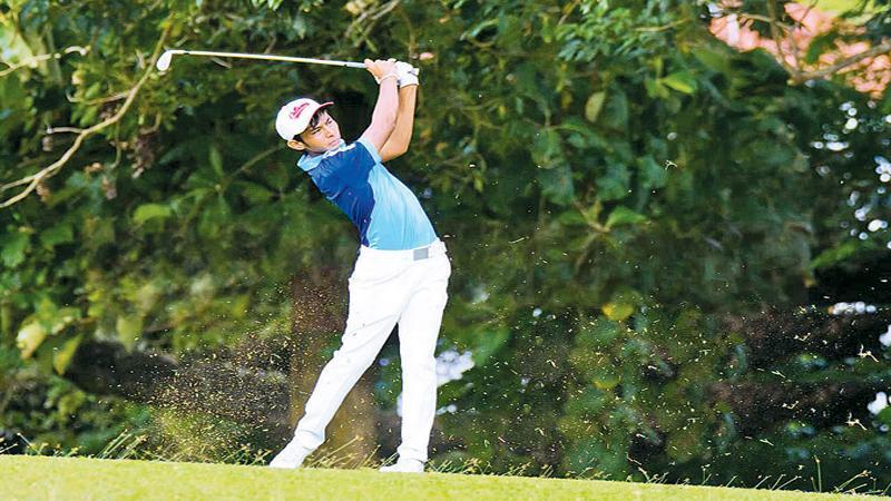 Vinod: Golfing role model