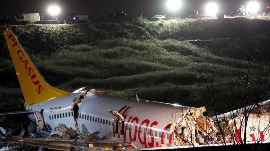 Turkey plane: Three dead, 179 hurt as jet skids off runway in Istanbul