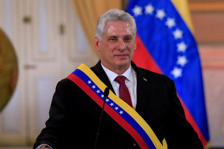 Cuban President urges to expand relations with SL