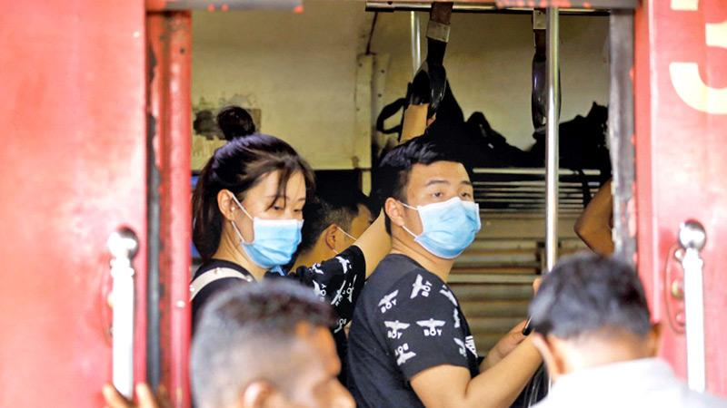 Coronavirus protection with face masks