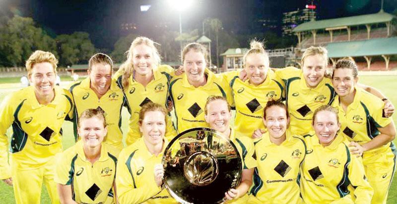 Aussies take Women's ODI Champions trophy