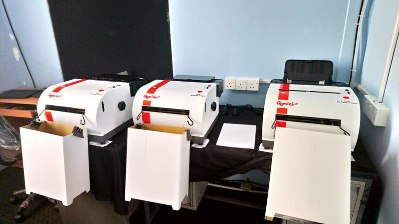 Braille printing machines