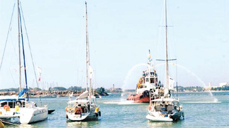 Galle port to be developed as a yacht marina