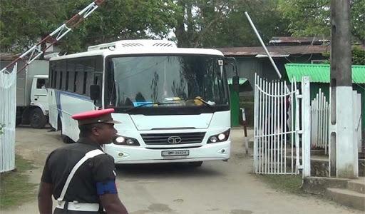 33 Sri Lankans leaves Diyatalawa Army Camp