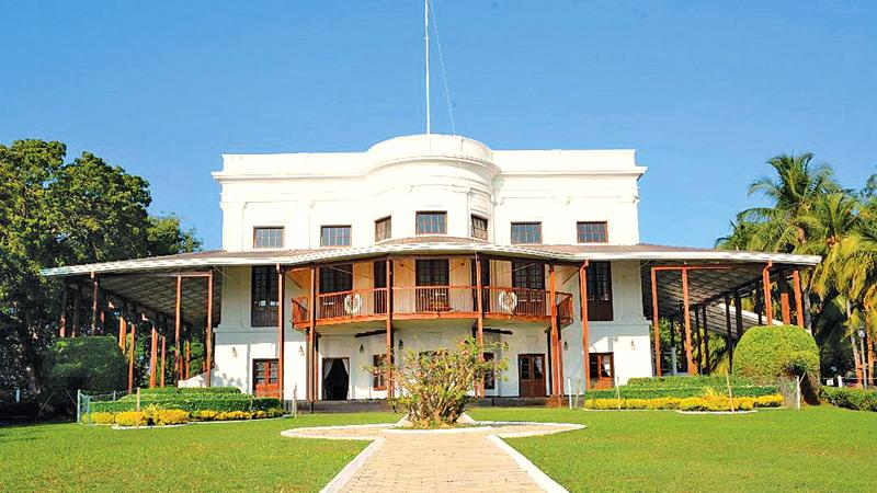 Front view of Navy House