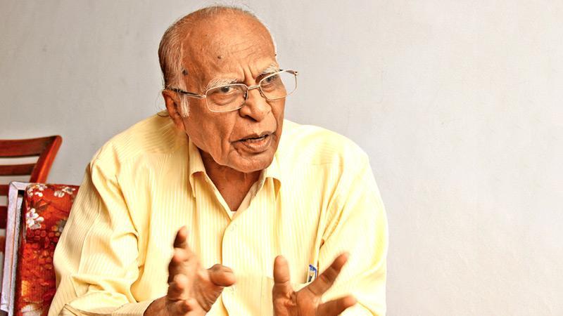 General Secretary of the Communist Party of Sri Lanka D.E.W.Gunasekera