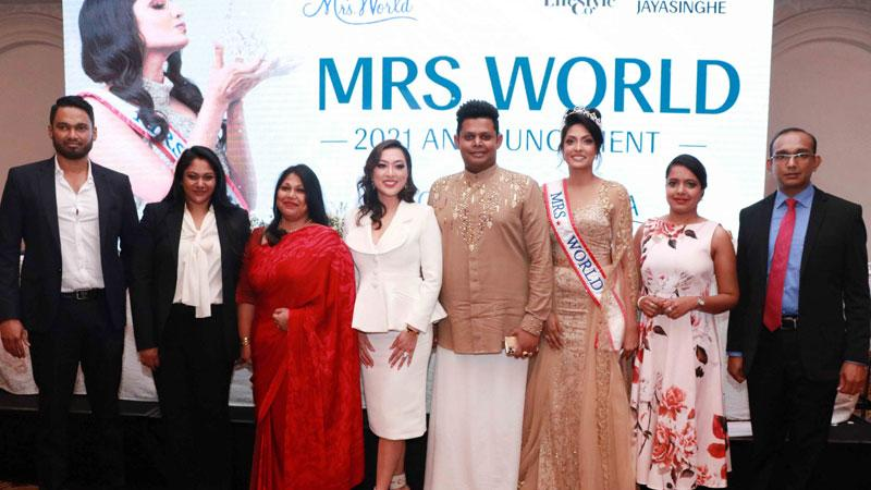 Sri Lanka to host Mrs. World 2021 pageant | Sunday Observer