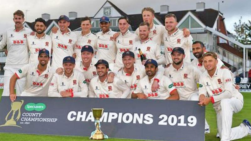 Essex are the defending champions
