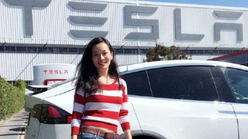 Choosing an electric car was an easy decision for Shenzhen resident Han Zhu