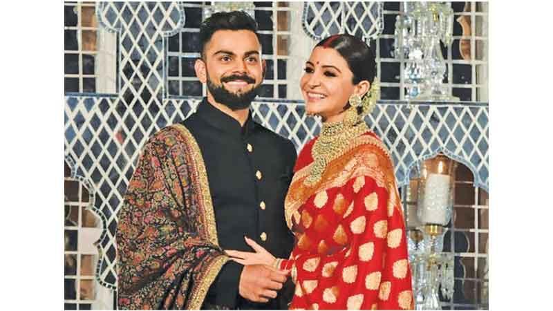Virat Kohli and his actress wife Anushka Sharma