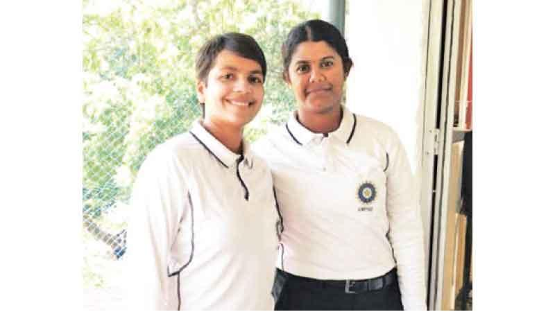 India's Janani Narayanan  and Vrinda Rathi named in  International Panel of ICC  Development Umpires