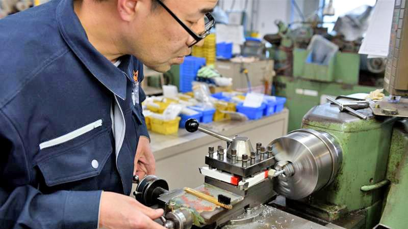The Japanese government's panel on future investment last month discussed the need for manufacturing of high-value products to be shifted back to Japan File pic: Akio Kon/Bloomberg