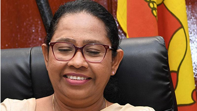 Health Minister Pavithra  Wanniarachchi