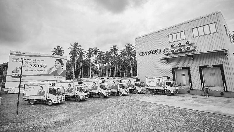 Crysbro's temperature-controlled distribution facility and marketing office in Kaduwela