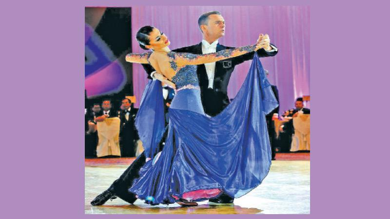 This is what is called ballroom dancing that was registered as a sport in Sri Lanka in 2016