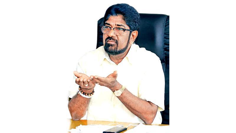 Media Minister Keheliya Rambukwella. Pic by Sulochana Gamage