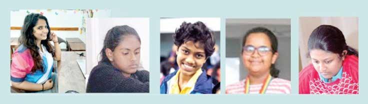 Sachini Ranasinghe-Sandeepani Tharushi-Tharushi Niklesha-Ashvini  Pavalachandran-Nethmi Fernando