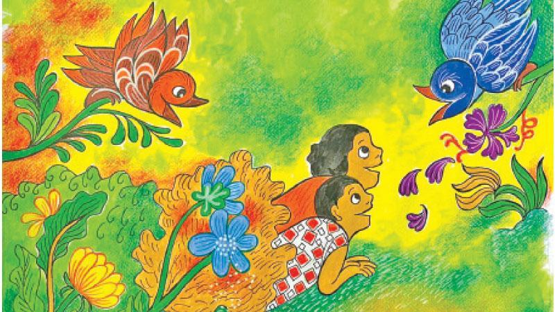 Sybil Wettasinghe's final illustrations for DP Kids