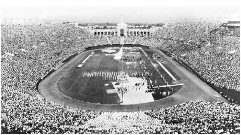 Los Angeles 1932 Opening Ceremony